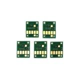 Чипы для Canon PIXMA TS6140, TS6240, TS6340, TS9540, TS9541C, TS704, TR7540, TR8540 (PGI-480/CLI-481 XXL), для картриджей/ПЗК/СНПЧ, комплект 5 цветов