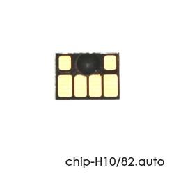Чип для картриджей HP Designjet 510 (под HP 82/CH565A), чёрный Black, автоматически обнуляемый