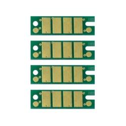 Чипы для Ricoh Aficio SG 3110DN, SG 3100SNW, SG 2100N, SG 7100DN, SG 3110DNW, SG 3110SFNW, SG 3120BSFNw, авто-обнуляемые, комплект 4 цвета