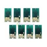 Чипы картриджей для Epson Stylus Pro WT7900, комплект 8 цветов (без белого и чистящего картриджа)