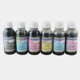 Чернила черные пигментные для Epson для черно-белой печати, 6 цветов, Dctec по 100 мл