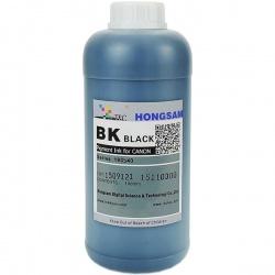 Чернила для Canon imagePROGRAF TM-200, TM-205, TM-300, TM-305 (картриджи PFl-120BK, PFl-320BK), пигментные DCTec, черные Black, 1000 мл