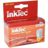 Картридж для Canon  iP1000, iP1500, s200, i250, iP2000, i350, i320, MP110, MP130, i455, MPC190, MP390 совместимый цветной Inktec BPI-424C (BCI-24C Color)