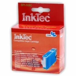 Картридж для Canon iP4200, MP520, iP4500, iP4300, MP510, iP5200, iP3300, iP3500, iP5300, MP610, iX4000, MP600, MP500, iP6700D, MX700, MP800, MP810, Pro9000, MP530, MP970, iX5000, iP6600D, MP830, MX850, совместимый, голубой, InkTec, CLI-8C