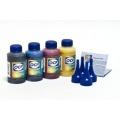 Чернила OCP для Epson L100, L110, L200, L210, L300, L350, L355, L550, L555, L1300, комплект 4 x 500 мл