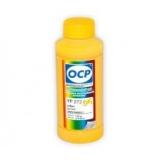 Чернила OCP желтые для HP Officejet Pro 8000/8500 для картриджей HP 940, 940XL, YP 272, Yellow, пигментные, 100 мл