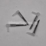 Угловой штуцер (фиттинг) для чернильного шлейфа СНПЧ, с иглой, игла 1,5 см, 1 шт