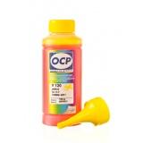 Чернила OCP для HP Designjet 500 (plus), 510, 111, 110 (plus/nr), 800, 500ps, 430, 70, 100, 120, Deskjet 1280, 5550, 1220, 6122, PSC 750, Photosmart 7150 (под картриджи 10, 13, 15, 20, 29, 40, 45, 82), OCP Y 120 водные, жёлтые Yellow, 100 мл