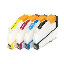 Перезаправляемые нано-картриджи Bursten Nano 2 для Epson Stylus C67, C87, CX3700, CX4100, CX4700, CX5700, CX7700 (T0631, T0632, T0633, T0634)