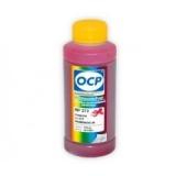 Чернила OCP пурпурные для HP Officejet Pro 8000/8500 для картриджей HP 940, 940XL, МР 272, Маgenta, пигментные, 100 мл