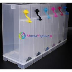 Емкости-доноры для СНПЧ на 6 цветов, 6 x 350 мл
