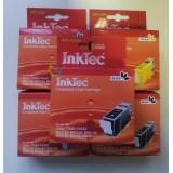 Комплект картриджей InkTec для Canon Pixma MX7600, iX7000 5 штук, неоригинальные