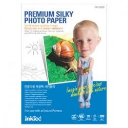 """Фотобумага Inktec высококачественная односторонняя с """"шелковым"""" покрытием, A4, 280г/м2, 20 листов"""