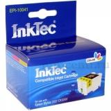 Картридж для Epson Stylus C62, CX3200 совместимый цветной InkTec EPI-10041 (T041) Color