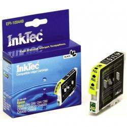 Картридж для Epson Stylus C86, CX6600, C84, CX6400, C64, CX3650, CX3600, CX4600, C66 совместимый черный InkTec EPI-10044B (T0441) Black