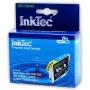 Картридж для Epson Stylus C86, CX6600, C84, CX6400, C64, CX3650, CX3600, CX4600, C66 совместимый голубой InkTec EPI-10044C (T0442) Cyan