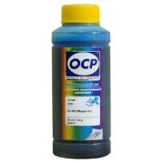 Чернила голубые OCP для HP Officejet Pro 8600, 8100, 6700, 6100, 6600, 7110, 7510, 7610, 7612, 7512 (для картриджей HP 932, 933, 933XL, 950, 950XL), Cyan, пигментные, 100 мл