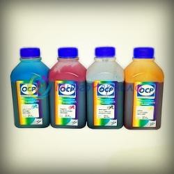 Чернила OCP для Epson C91, CX4300, T26, TX119, TX200, TX210, S22, пигментные, комплект 4 x 500 гр
