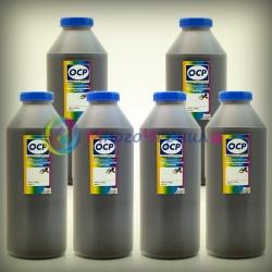 Чернила OCP для Epson P50, T50, PX660, PX650, 1410, R270, R290, RX615, TX650, PX730WD, RX610, R390, RX590, R295, RX690, TX659, TX700W, TX710W, TX800, XP-750, XP-850, XP-950, XP-960, водорастворимые, комплект 6 x 1 литр
