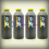 Комплект чернил OCP для HP DesignJet 500, 510, 800, 815, 820, K850 (для картриджей HP 10, 11, 82), пигмент + водные, 4 x 1 литр