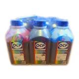 Чернила OCP водные для Epson R200, R220, R300, RX700, R320, RX640 комплект 6 x 500гр