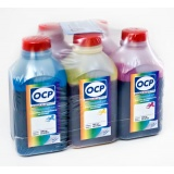 Чернила OCP для Canon MG5340, MG5140, iP3600 iP4940, MP550, iX6540, MP540, iP4840, MG5240, iP4600, iP4700, MP640, MP630, MP560, MX884, MX894, MX870, MP620, MG5150, MX860, MX714, MG5250, iX6550, iP4850, MG6150, пигментные + водные, комплект 5 x 500 мл