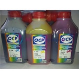 Чернила OCP для Canon MG5340, MG5140, iP3600 iP4940, MP550, iX6540, MP540,iP4840, MG5240, iP4600, iP4700, MP640, MP630, MP560, MX884, MX894, MX870, MP620, MG5150, MX860, MX714, MG5250, iX6550, iP4850, MG6150 комплект 5 x 500 г. SAFE SET (водные)