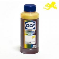 Чернила желтые пигментные OCP YP 117 для картриджей Epson Stylus Photo 2100 (T0344) Yellow, 100 gr