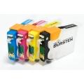 Перезаправляемые нано-картриджи Bursten Nano 2 для Epson Expression Home XP-313, XP-413, XP-103, XP-303, XP-207, XP-203, XP-406, XP-306, XP-33, XP-403 с чипами 4 шт