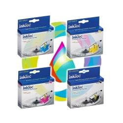 Комплект картриджей для Brother MFC-J6510DW, MFC-J5910DW, MFC-J6910DW, DCP-J525W, MFC-J825DW, MFC-J430W, MFC-J6710DW, DCP-J725DW, MFC-J650DW (LC1240, LC1280, LC1220, LC71), 4 шт, совместимые InkTec