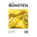 Фотобумага Bursten суперглянцевая односторонняя плетеная, A3 (29,7x42), 260 г/м2, 50 листов