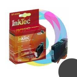 Картридж для Canon Pixma iP4000, iP5000, iP6000D, iP8500, MP780, MP760, MP750, i560, i9950 совместимый InkTec BPI-806BK черный ( BCI-5BK, BCI-6BK), Photo Black