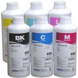 Комплект сольвентных чернил IST/InkTec для Mimaki JV33, CJV30, JV5, Roland Soljet Pro, Mutoh Valuejet (RS2), комплект 6 x 1 литр