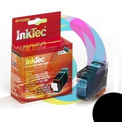 Картридж для Canon Pixma iP3000, iP4000, iP5000, i9950, i865, MP750, MP780, i9100, S800, MP760, i560 совместимый InkTec черный пигментный (BPI-603BK, BCI-3BK, BCI-3EBK), Pigment Black