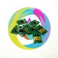Чипы авто обнуляемые для перезаправляемых картриджей (ПЗК/ДЗК) плоттеров Epson Stylus Pro 7450, 9450, 7400, 9400, комплект 8 штук