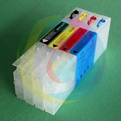 Перезаправляемые картриджи (ПЗК/ДЗК) для Epson Stylus Pro 4400, 4 x 300 мл., с чипами