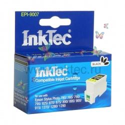 Картридж для Epson Stylus 700, 800, 750, 710, 850, 1160, 860, 720, 760, 1200, 1520, 740 совместимый, черный InkTec EPI-10051 Black