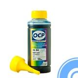 Чернила светло-голубые для HP Designjet 130, 90, HP Photosmart C5183, C6283, D7163, 8253, D7263, C7283, 3213, D7463, 3313, D7363, C6183, C8183, C7183, 3110, 3210, C5180, C5185, C5175, 3310 (картриджи HP Vivera 177, 85) OCP CL 94, Light Cyan водные, 100 мл