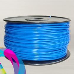 ABS пластик темно-синий (dark blue) для 3D-принтеров Makerbot, Wanhao, Cube, UP! mini, UP Plus, Picaso 3D Builder/Designer и др., диаметр нити 1,75 мм, 1 кг