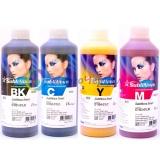 Чернила InkTec SubliNova G7 для печатающих голов Epson DX5 и DX7 (SEC-B01L), сублимационные,  комплект 4 цвета по 1 литру
