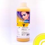 Чернила сублимационные для Epson, InkTec (DTI04-1LY) Yellow, желтые литровые, 1000 мл