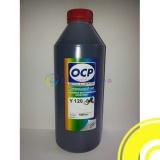 Чернила OCP для HP Designjet 500 (plus), 510, 111, 110 (plus/nr), 800, 500ps, 430, 70, 100, 120, Deskjet 1280, 5550, 1220, 6122, PSC 750, Photosmart 7150 (под картриджи 10, 13, 15, 20, 29, 40, 45, 82), OCP Y 120 водные, жёлтые Yellow, 1 литр