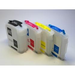 Перезаправляемые картриджи (ПЗК) для HP Designjet 111 (картриджи HP 82 / 11)