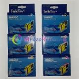 Комплект картриджей для Epson R200, R220, R300, R300M, R320, R340, RX500, RX600, RX620, RX640 6 шт,InkTec неоригинальные