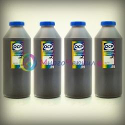 Чернила OCP для Epson S22, SX130, SX230, SX425W, SX430W, SX525WD, C91, CX4300, T26, TX119, TX200, TX210, TX410, Workforce WF-3620DWF, WF-3640DTWF, WF-7110DTW, WF-7610DWF, WF-7620DTWF пигментные, комплект 4 x 1000 г.