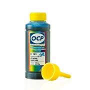 Чернила OCP для HP Deskjet Ink Advantage 3525, 4615, 4625, 5525, 6525 (под картриджи 655, 685), OCP C 343 водные, голубые Cyan, 100 мл