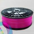 ABS пластик  розовый (pink) для 3D-принтеров Makerbot, Wanhao, Cube, UP! mini, UP Plus, Picaso 3D Builder/Designer и др., диаметр нити 1,75 мм, 1 кг