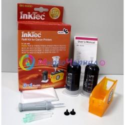 Заправка для Canon MG5340, MG5140, iP4940, MG5240, iP4840, ix6540, MG6140, MG6240, MG8240, MG8140, MX884, MX894, MX714, заправочный набор InkTec BKI-5025D для черного картриджа PGI-425BK