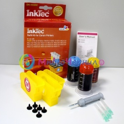 Заправка для Canon MG5340, MG5140, iP4940, iX6540, iP4840, MG5240, MG6240, MG6140, MG8240, MG8140, MX884, MX894, MX714, заправочный набор для цветных картриджей CLI-526, CLI-426, InkTec BKI-5026C