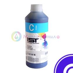 Экосольвентные чернила IST/InkTec Cyan для Mimaki JV33, CJV30, Roland Soljet, Mutoh и др. на головах Epson DX4, DX5, DX6, DX7 (ES2), 1 литр